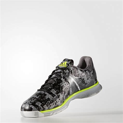 indoor sports shoes adidas counterblast falcon mens grey handball indoor