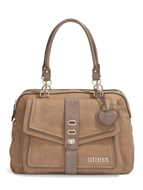 Guess Jordyn Satchel White guess azusa dome satchel ebay