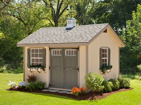 Heritage Shed by Ez Fit Heritage 10x14 Wood Shed 10x14ezkithe Free Shipping