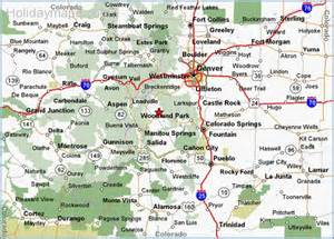 colorado map of state map of colorado map travel holidaymapq