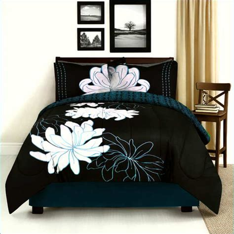 black and size comforter set black size comforter set 28 images 7 pc solid black