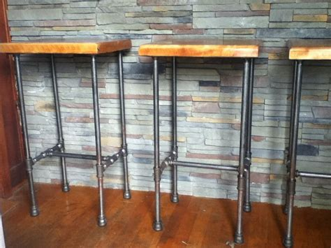 diy outdoor bar stools pipe cherry bar stools outdoor bar pinterest