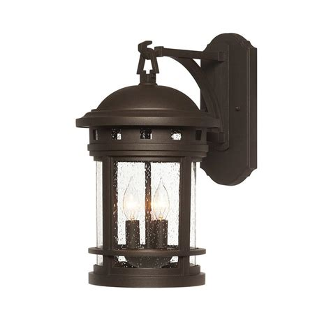 oil rubbed bronze outdoor wall light designers fountain mesa collection 3 light oil rubbed