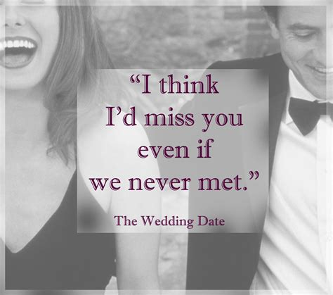 Wedding Date Quotes by Words From The Wedding Date Fall In All
