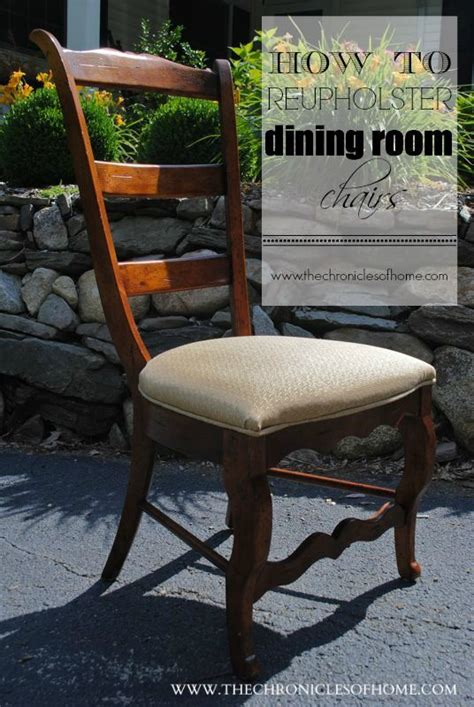 Dining Room Chairs Recovered Tutorial How To Recover Dining Room Chairs Chairs Recover Dining Chairs And Dining Rooms