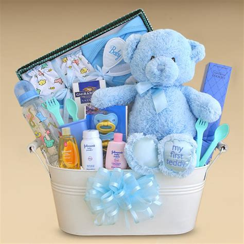 gifts for boy baby shower gift baskets created baby boy gift basket