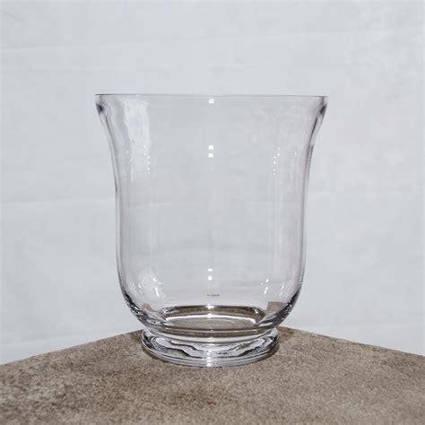 large hurricane vase vase hurricane large 17 5cm x 19cm h harrisons hiremaster wanganui