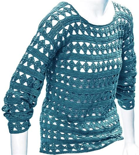 pattern crochet tunic crochet tunic pattern casual crochet tunic with long