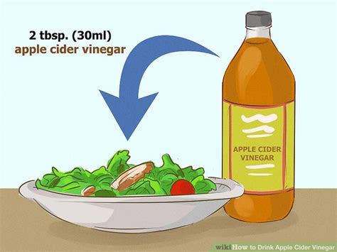 How To Make Detox Water Wikihow by Easy Ways To Drink Apple Cider Vinegar Detox Wikihow