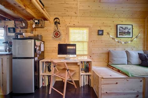 Small Home Living Magazine Our Tiny Tack House Rustic Living Room Seattle By