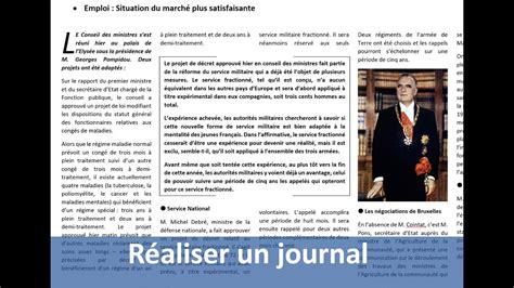 Modèle Journal Word