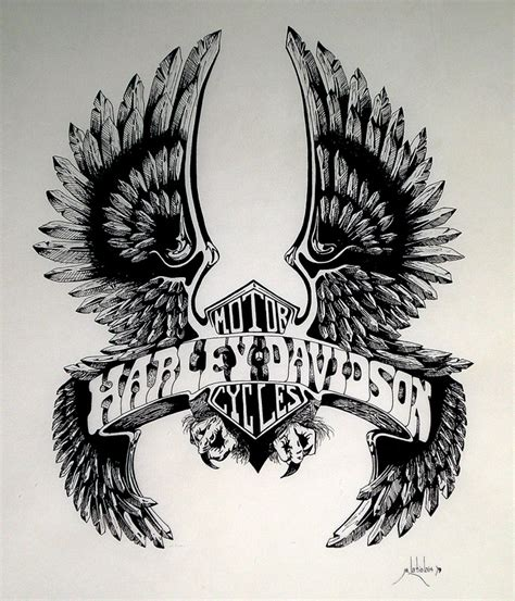 eagle tattoo hd images harley davidson tattoos google search art of the