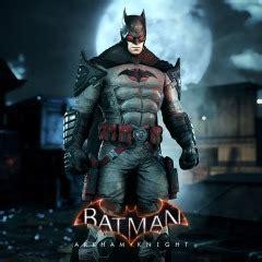 batman arkham knight batman flashpoint skin  ps