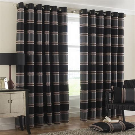 black stripe curtains black striped curtains furniture ideas deltaangelgroup