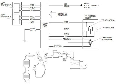 how cars run 2006 acura tl electronic throttle control throttle control system diagram 2006 acura tl car stereo wiring diagram edmiracle co