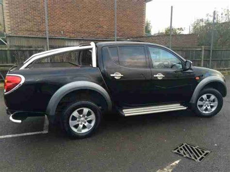 mitsubishi l200 2007 mitsubishi 2007 l200 top spec fully loaded car