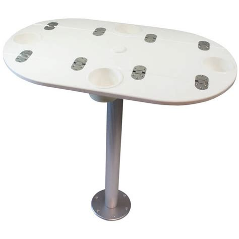 Starboard Table With Pedestal Boat Outfitters Boat Table Pedestal