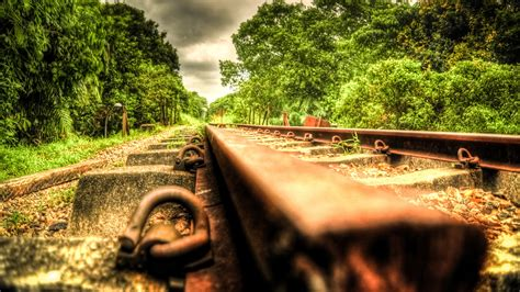 wedding background tracks hdr photography railroads wallpapers