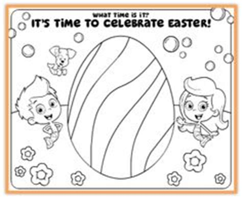 Easter Coloring Pages Nick Jr | 1000 images about bubble guppies on pinterest bubble