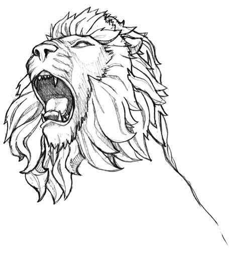 roaring lion coloring page inkspired musings roaring like a lion