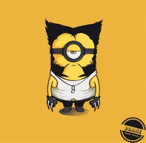 imagenes minion wolverine the largest collection of minions on the internet the