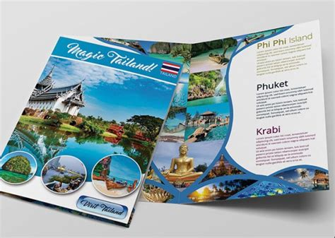 travel and tourism brochure templates free csoforum info