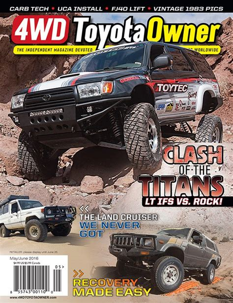 Toyota Magazine May June 2016 4wd Toyota Owner Magazine