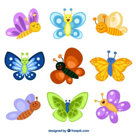 farfalle clipart butterflies illustrations vector premium