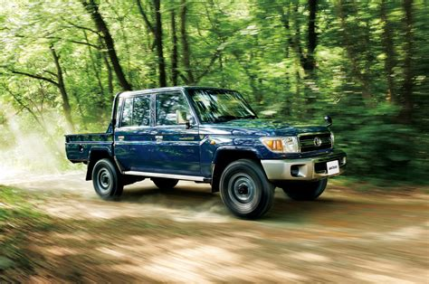 Check Out The Reissued Toyota Land Cruiser 70 Pickup Truck