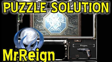 resident evil hd remaster jewelry box puzzle solution