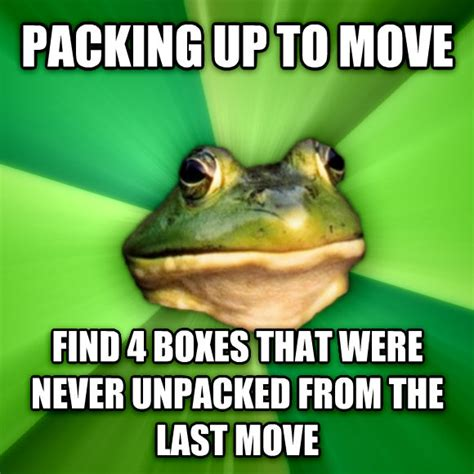 Moving On Up Meme - livememe com foul bachelor frog
