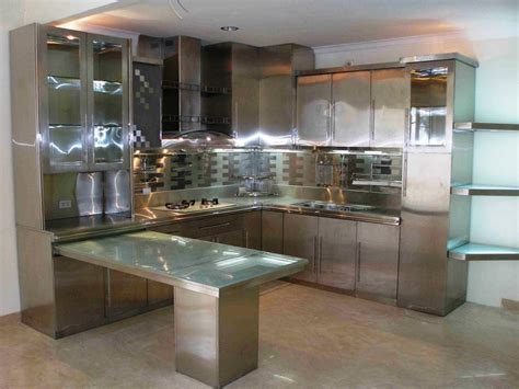 Metal Kitchen Furniture by Metal Kitchen Cabinets For Your Kitchen Storage Solution