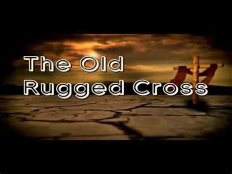 the rugged cross karaoke the rugged cross instrumental with lyrics