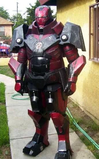 war machine armor iron man halo costume
