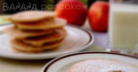 membuat banana pancake hesti s kitchen yummy for your tummy banana pancake