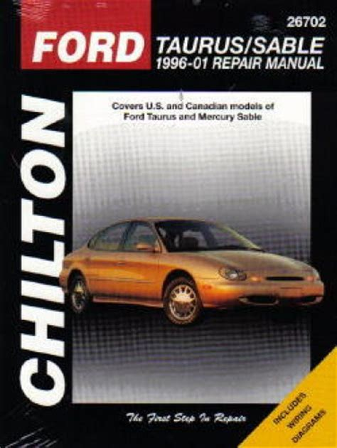 auto manual repair 2000 ford taurus regenerative braking chilton ford taurus sable 1996 2005 repair manual