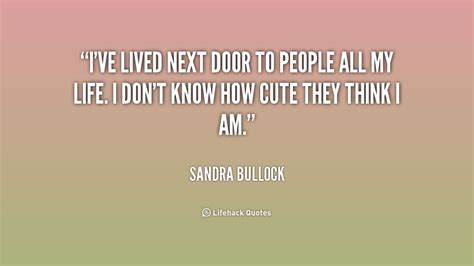 Bullock Quote Of The Day by Bullock Quotes Quotesgram