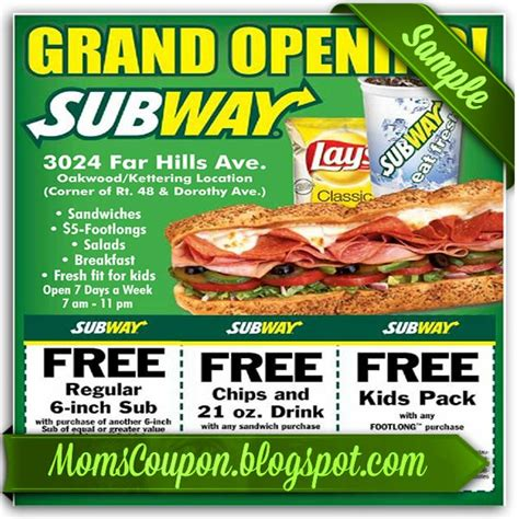 printable subway coupons december 2017 1000 images about coupon for 2015 february on pinterest