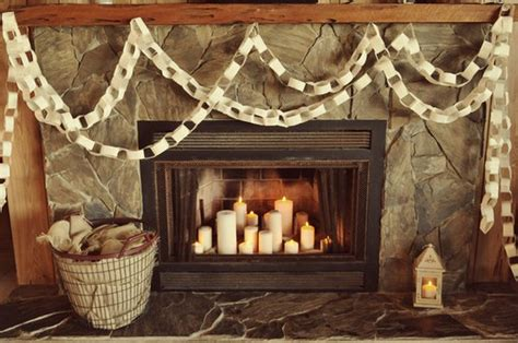 Candle Fireplace Inserts by How To Fill The Fireplace