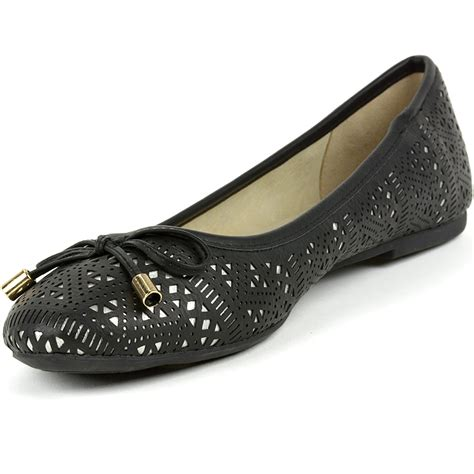 s ballet flat shoes alpine swiss botanic s ballet flats lazer cut