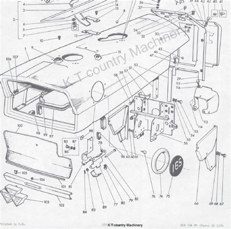 massey ferguson 255 parts diagrams my weekend project brake on a massey ferguson 165