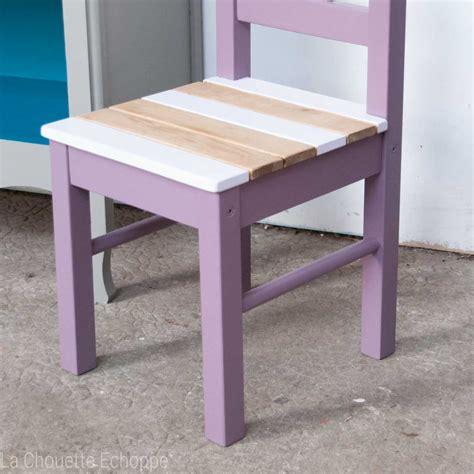 chaise enfant en bois chaise pour enfants en bois peint chin 233 e et relook 233 e