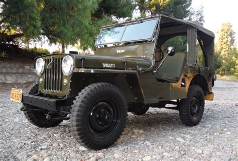 Jeep Cj2 1947 Willys Jeep Cj2a Bring A Trailer