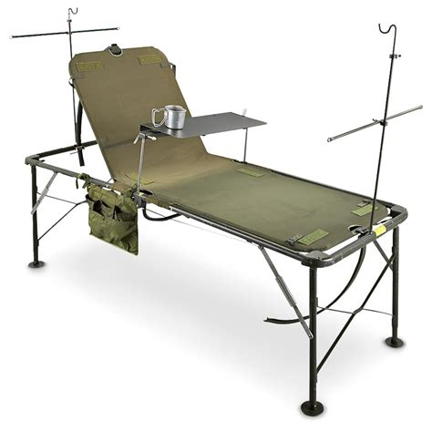 hospital bed accessories used u s military folding adjustable hospital bed