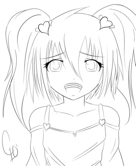 anime girl coloring pages online nice stunning coloring pages online cute anime coloring