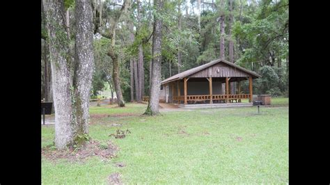 Suwannee River Cabins by Suwannee River State Park Cing Live Oak Florida