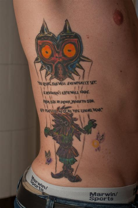 majora s mask tattoo majora s mask by ncfk on deviantart