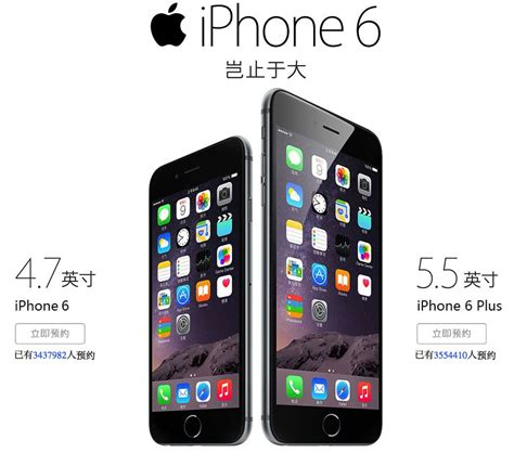 Hp Iphone 6 China iphone 6 and 6 plus preorders hit 4 85 million in china