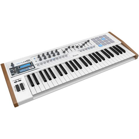 Keyboard Midi disc arturia keylab 49 midi controller keyboard at gear4music