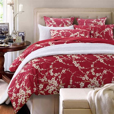 cherry blossom bedding rose bedding